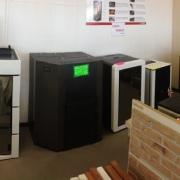 Sala mostra Ungaro termostufe