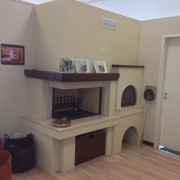Sala mostra Caminetti da cottura - caminetti da taverna