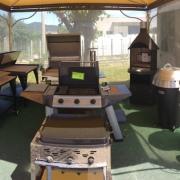 Sala mostra barbecue a Caerano San Marco Treviso TV